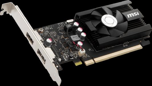 Видеокарта MSI GeForce GT 1030 LP OC PCI-E 2048Mb GDDR5 64 Bit Retail (GT 1030 2GD4 LP OC)