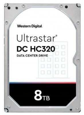 Жесткий диск 3.5 8 Tb 7200rpm 256Mb cache Western Digital Ultrastar DC HC320 SATA III 6 Gb/s 100a dc digital multifunction power meter energy monitor module voltmeter ammeter 6 5v 100