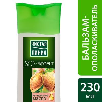 ЧИСТАЯ ЛИНИЯ Бальзам-ополаскиватель Питание и Уход 230мл