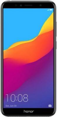 Смартфон Honor 7A Pro 16 Гб черный (51092KDU) смартфон honor 10 64 гб черный 51092jvu