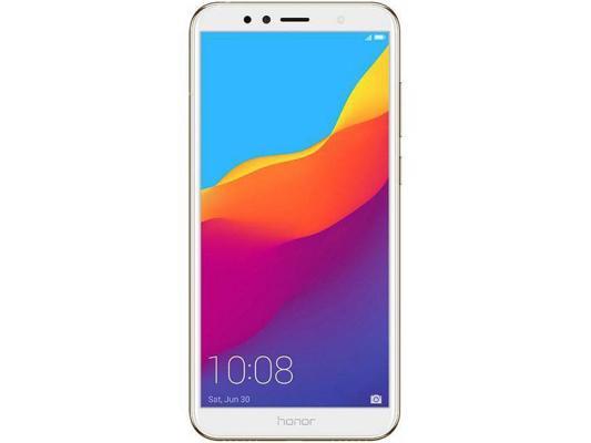 Смартфон Honor 7A Pro 16 Гб золотистый (51092KDV) смартфон honor 10 64 гб черный 51092jvu