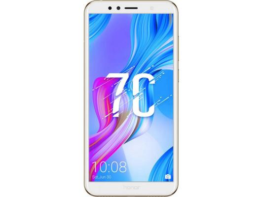 Смартфон Honor 7C 32 Гб золотистый (51092MNU) смартфон honor 7c 32gb gold