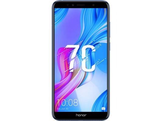 Смартфон Honor 7C 32 Гб синий (51092MNT) смартфон honor view 20 128gb сапфировый синий