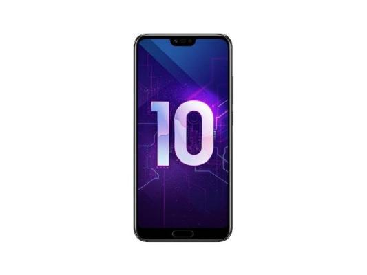 Смартфон Honor 10 64 Гб черный (51092JVU) смартфон honor view 20 256gb красный