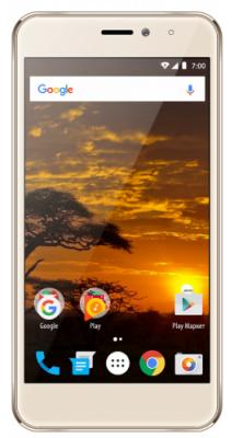 Смартфон Vertex Impress Lion 4G 8 Гб золотистый (LN4G-GLD) сотовый телефон vertex impress tor black orange
