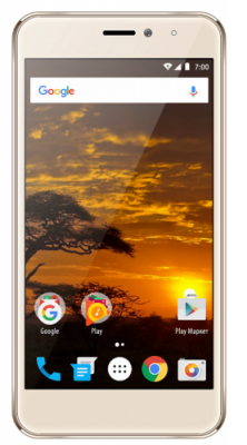 Смартфон Vertex Impress Lion 4G 8 Гб золотистый (LN4G-GLD) смартфон vertex impress saturn золотистый