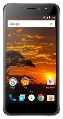 "Смартфон Vertex Impress Lion (4G) Graphite MediaTek MT6737 (1.3) / 1GB / 8GB / 5.0"" 1280x720 IPS / 2Sim / 4G LTE / BT / 8Mp, 2Mp / Android 7.0 смартфон vertex impress lightning 4g 8gb black"