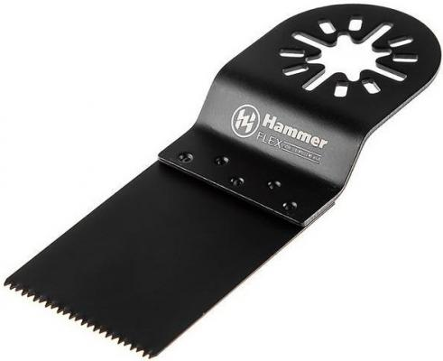 Полотно пильное для МФИ Hammer Flex 220-037 MF-AC 037 погружное, 34*34*92мм, твердое дерево полотно пильное для мфи hammer flex 220 037 mf ac 037 погружное 34 34 92мм твердое дерево