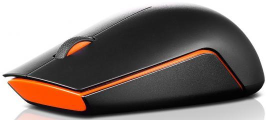 Мышь беспроводная Lenovo GX30N71812 чёрный USB