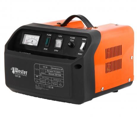 Зарядное устройство WESTER CH30 для АКБ 700Вт 12/24В 20/10А цена