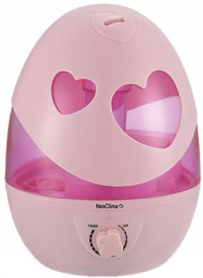 Увлажнитель воздуха NEOCLIMA NHL-320SH розовый увлажнитель воздуха neoclima nhl 260 a 2 6 л