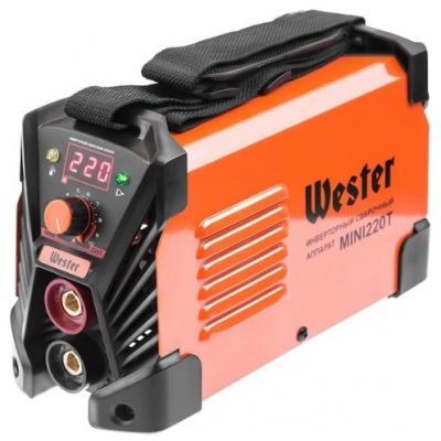 Инвертор сварочный WESTER MINI 220T 30-220A 155В ПВ60% 1.6-5.0мм автомобильный инвертор wester psw250