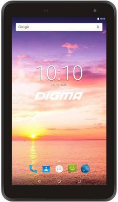 "Планшет Digma Optima 7016N 3G MT8321 (1.3) 4C/RAM1Gb/ROM16Gb 7"" IPS 1024x600/3G/Android 7.0/черный/2Mpix/0.3Mpix/BT/GPS/WiFi/Touch/microSD 64Gb/minUSB/2500mAh все цены"