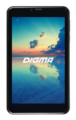 Планшет Digma Plane 7561N 3G 7 16Gb Black 3G Wi-Fi Bluetooth Android PS7176MG планшет digma plane 7561n 3g mt8321 black