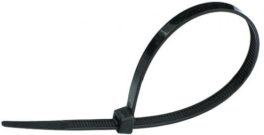 Хомут нейлоновый Hammer Flex 235-006 4,8*300мм, черный, упаковка 100 штук нейлоновый хомут dkc 4 8х250 черный 100шт 25316