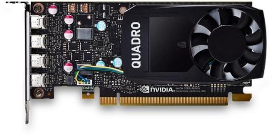 Видеокарта DELL Quadro P600 nVidia Quadro P600 PCI-E 2048Mb GDDR5 128 Bit OEM (490-BDTE) quadro p600