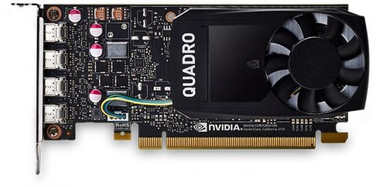 Видеокарта DELL Quadro P1000 nVidia Quadro P1000 PCI-E 4096Mb 128 Bit OEM (490-BDXN) видеокарта 8192mb dell quadro m5000 490 bcxp