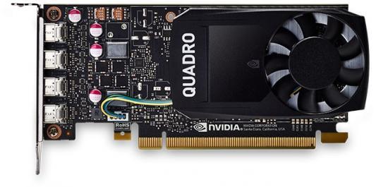 Видеокарта DELL Quadro P1000 nVidia Quadro P1000 PCI-E 4096Mb GDDR5 128 Bit OEM (490-BDXO) цена и фото