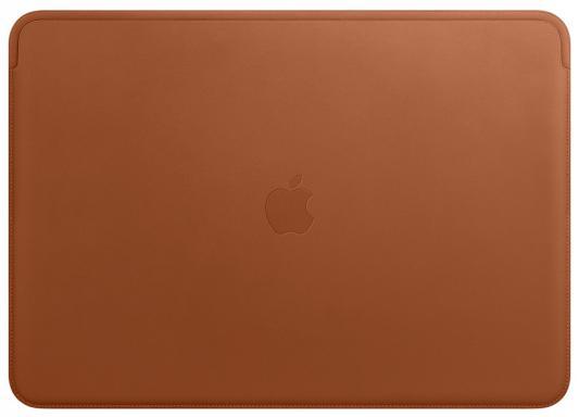 Чехол Apple Leather Sleeve для MacBook Air 13 золотисто-коричневый MRQM2ZM/A аксессуар чехол 13 inch gurdini для apple macbook air 13 plastic matt oem pink 220012