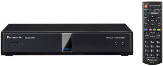 Видеотерминал Panasonic KX-VC1000 радиотелефон dect panasonic kx tg6811rub черный