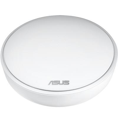 Wi-Fi роутер ASUS MAP-AC1300 802.11abgnac 300Mbps 2.4 ГГц 1xLAN LAN белый точка доступа asus lyra mini x3 map ac1300 802 11ac 1267mbps 5 ггц 2 4 ггц 1xlan белый