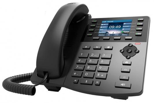 Телефон IP D-Link DPH-150SE/F5 черный poe voip телефон d link dph 400se f4a