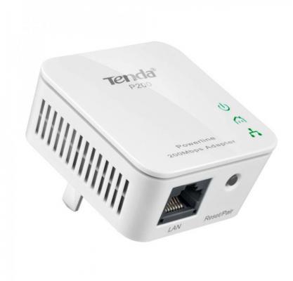 Сетевой адаптер HomePlug AV Tenda P200KIT Ethernet (упак.:2шт) сетевой адаптер powerline wifi tenda ph3 ethernet 2 шт