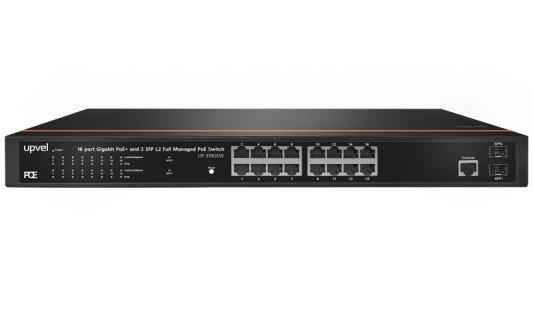 Коммутатор Upvel UP-319GEW 16G 2SFP 16PoE 260W управляемый коммутатор upvel up 308few up 308few