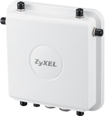 Точка доступа Zyxel WAC6553D-E (WAC6553D-E-EU0201F) AC1750 10/100/1000BASE-TX белый сетевой экран zyxel nsg50 nsg50 zz0101f 10 100 1000base tx серебристый