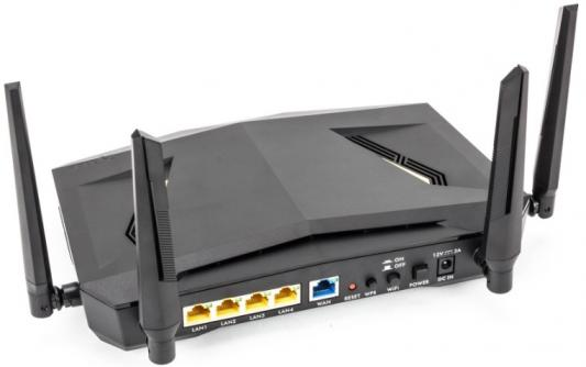 Маршрутизатор беспроводной Zyxel ARMOR Z2 (NBG6817-EU0101F) AC2600 10/100/1000BASE-TX черный цена
