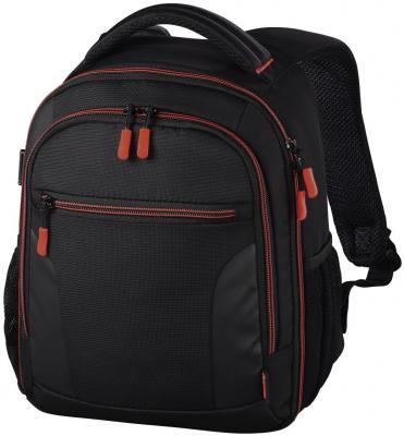Рюкзак для зеркальной фотокамеры Hama Miami 150 черный/красный hama hardcase thumb 40g red чехол для фотокамеры