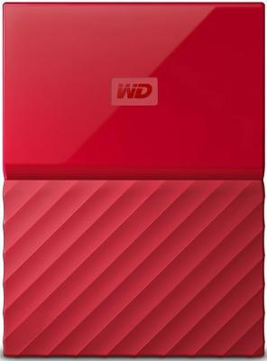 "Жесткий диск WD Original USB 3.0 2Tb WDBLHR0020BRD-EEUE My Passport 2.5"" красный 2 5 2000gb wd my passport wdbuax0020brd eeue usb3 0 красный"