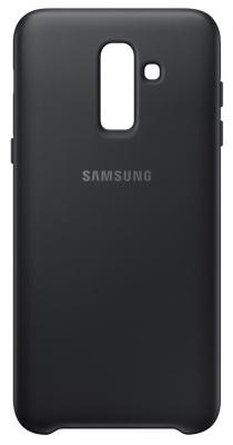 Чехол (клип-кейс) Samsung для Samsung Galaxy J8 (2018) Dual Layer Cover черный (EF-PJ810CBEGRU) клип кейс samsung galaxy j4 dual layer cover gold ef pj400cfegru
