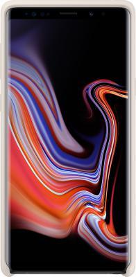 Чехол (клип-кейс) Samsung для Samsung Galaxy Note 9 Silicone Cover белый (EF-PN960TWEGRU) клип кейс samsung silicone cover для galaxy s8 зеленый
