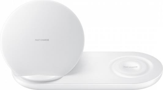 Беспроводное зарядное устройство Samsung EP-N6100 1A белый беспроводное зарядное устройство samsung ep ng930twrgru microusb 2а белый
