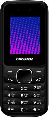 Мобильный телефон Digma A170 2G Linx черный моноблок 1.77&quot, 128x160 BT GSM900/1800 FM microSD max16Gb