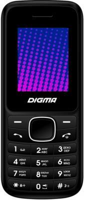 Мобильный телефон Digma LINX A170 2G черный синий мобильный телефон digma linx a170 черно красный