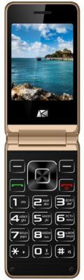Мобильный телефон ARK V1 золотистый телефон
