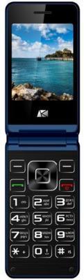 Мобильный телефон ARK V1 синий мобильный телефон ark benefit u281 белый 2 8 32 мб 3 симкарты