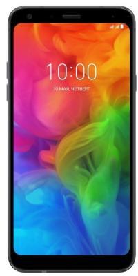 Смартфон LG Q610NM Q7 32Gb 3Gb черный моноблок 3G 4G 2Sim 5.5 1080x2160 Android 8.1 13Mpix 802.11bgn BT GPS GSM900/1800 GSM1900 Ptotect MP3 A-GPS microSD max2000Gb смартфон lg q6 m700an 32gb