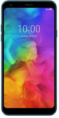 Смартфон LG Q7+ 64 Гб синий (LMQ610NA.ACISBL) цена 2017