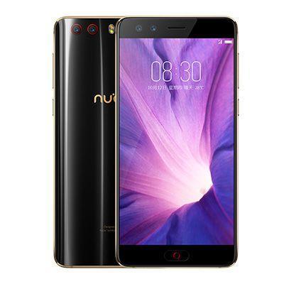 Смартфон ZTE Nubia Z17 miniS 64 Гб черный золотистый картаев павел zte nubia z17 mini домен ru отмечает день рождения