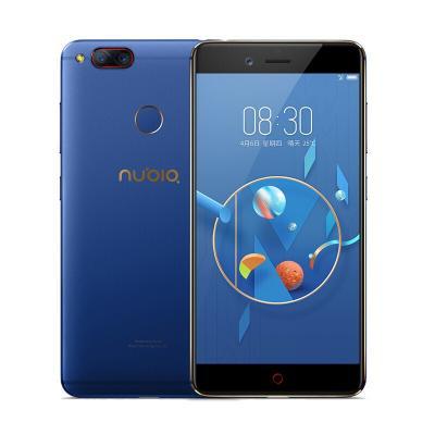 Смартфон ZTE Nubia Z17 Lite 64 Гб синий золотистый смартфон zte nubia z17 lite синий золотистый 5 5 64 гб lte nfc wi fi gps 3g