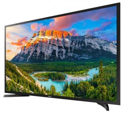 Плазменный телевизор Samsung UE-43N5000AUX черный телевизор samsung ue43nu7400uxru черный