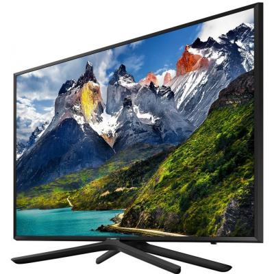 Телевизор ЖК 49'' Samsung/ 49, Full HD, PQI 500, Smart TV, DVB-T2/C, black телевизор жк samsung ue55nu7100uxru 554к smart tv