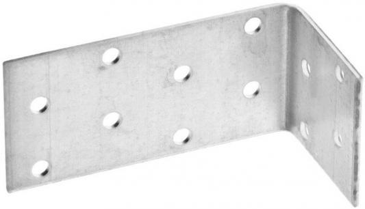 Уголок ПЕТРОТЕХ 124405 крепёжный ассиметричный 55х50х90х2мм оцинк. накл. tech-krep стоимость