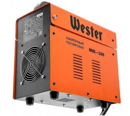 Сварочный полуавтомат WESTER MIG-100 53-100A 0.6-0.8мм цена