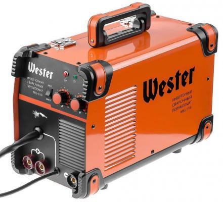 Сварочный полуавтомат инверторный WESTER MIG-110i MIG/MAG/MMA 40-110A 0.6-0,8 мм инверторный сварочный полуавтомат спец mag 135
