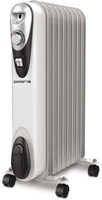 Масляный радиатор Polaris Compact CR C 0920 2000 Вт термостат колеса для перемещения белый цена