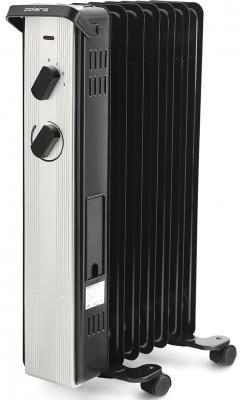 Масляный радиатор Polaris PRE A 0715 1500 Вт чёрный обогреватель aeronik c 0715 s